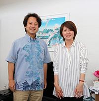 西村冷子さんと柴山弘文